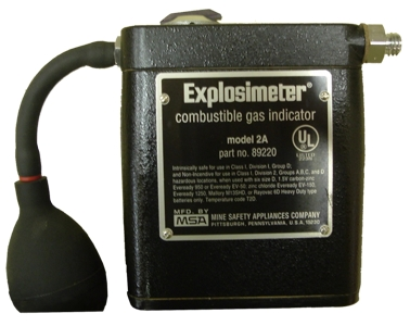 Combustible Gas Indicator