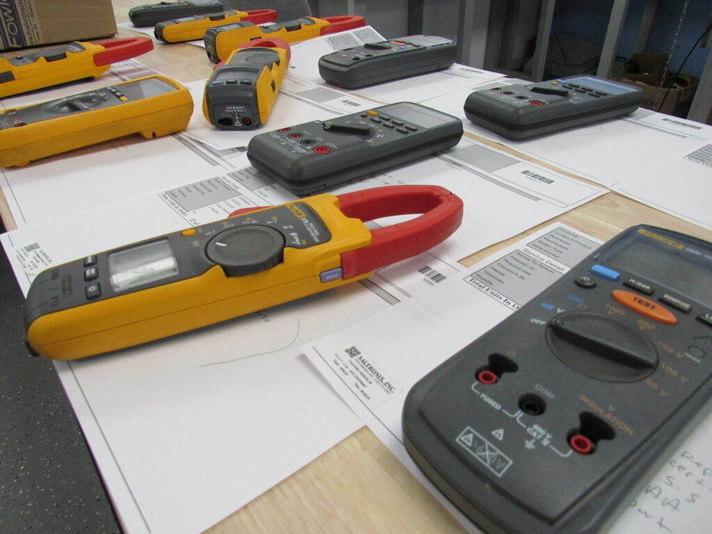 Meters queued for service