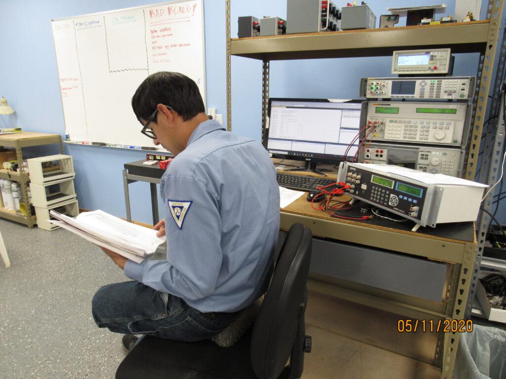 Junior Tech Calibrating