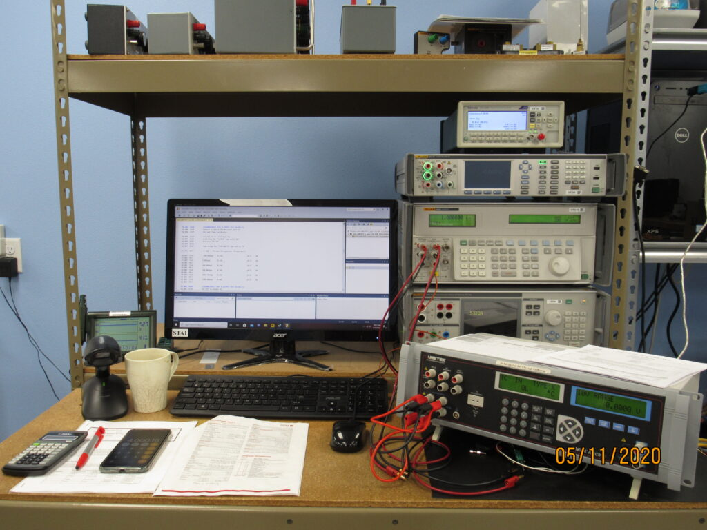 Equipment Testing Station
